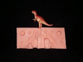 Silikonová formička dinosaurus 2. 3246