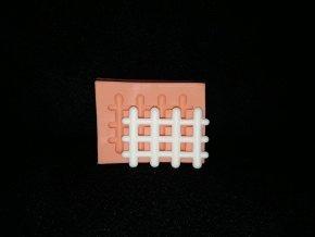 Silikonová formička plot malý 5199