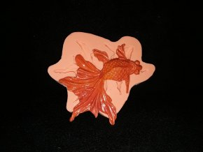 Silikonová formička rybička závojnatka 2191