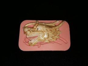 Silikonová formička čínský drak-hlava 2193