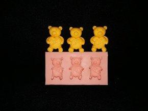 Silikonová formička medvídci 2195
