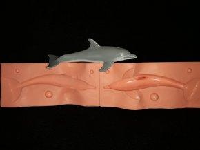 Silikonová formička delfín velký 3264