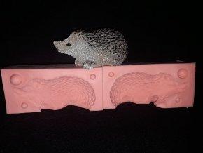 Silikonová formička ježek velký 3266