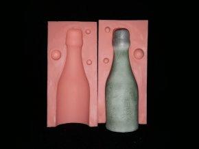 Silikonová formička lahvička sektu 3272