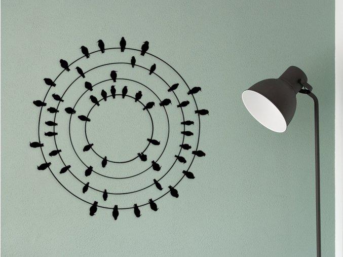 kovovy-obraz-ptacci-v-kruhu
