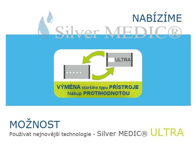 vyhodna nabidka pro majitele silvermedic moznost pouzivat nejnovejsi verzi pristroje silvermedic ultra