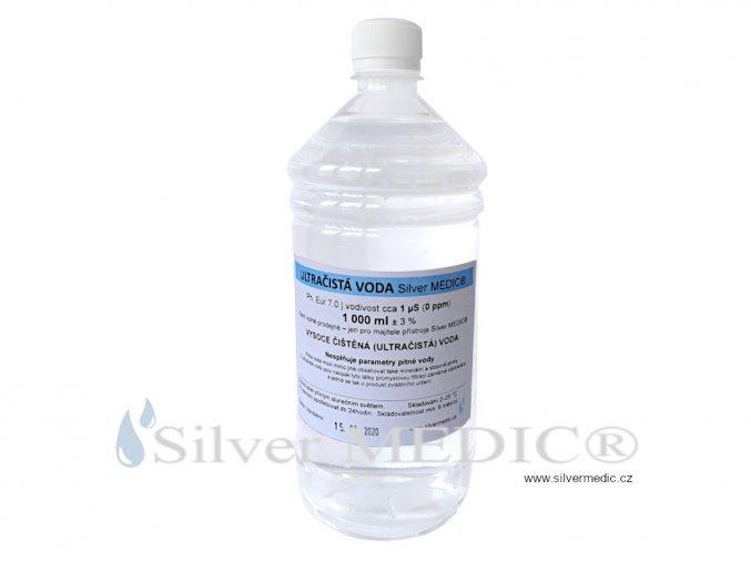 cistena voda destilace objem 1000 ml obal plast