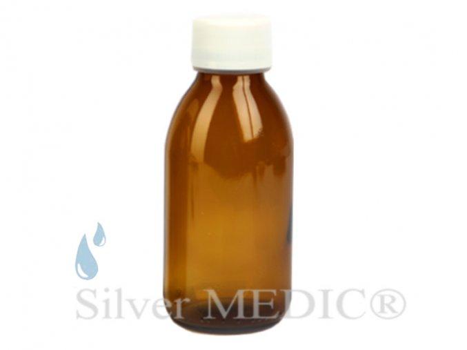sklenicka 150 ml skladovani nanostribro koloidni stribro special ag silvermedic