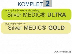 komplet 2 sady silvermedic ultra gold