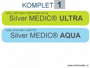 komplet 1 sady silvermedic ultra aqua