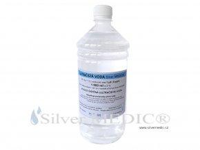 vysoce cistena ultracista voda silvermedic 1000 ml pro vyrobu pet lahev