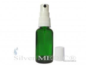 klasicky rozprasovac zelena flasticka 30 ml aplikacia zlato koloid nano silvermedic