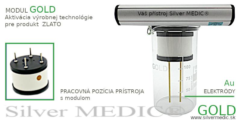 modul-gold-pre-pristroj-silvermedic-vyroba-nanozlato