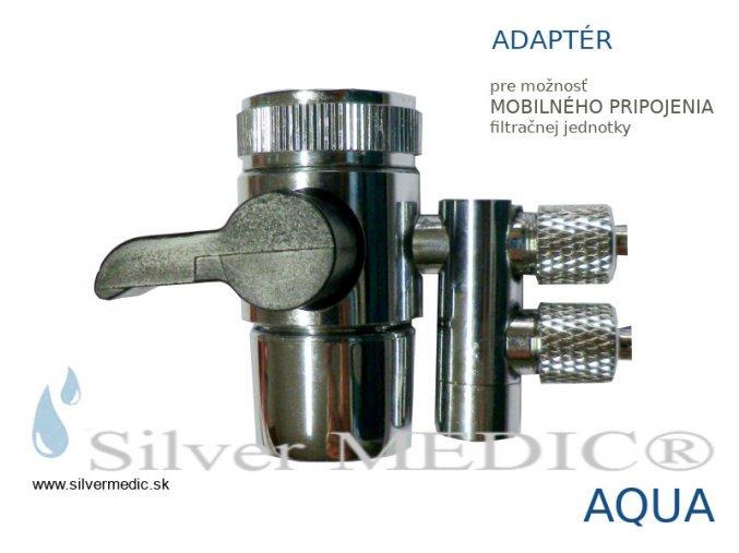 adapter moznost pre mobilne pripojenie filtracnej jednotky silver medic aqua