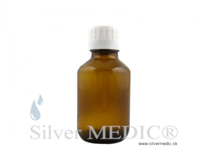 lekarenska flasticka 100 ml hnede sklo pre zlato nanozlato special