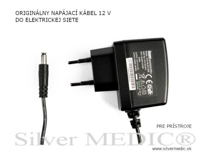sietovy adapter 12 volt napajanie pristroje silvermedic