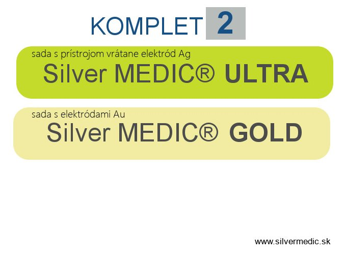predajne sady komplet 2 silvermedic utra gold