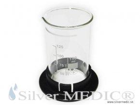 vyrobna kadinka nadobka sklo 150 ml pre vyrobu koloid nano silvermedic