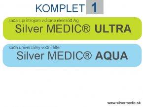 komplet 1 silvermedic sada ultra aqua