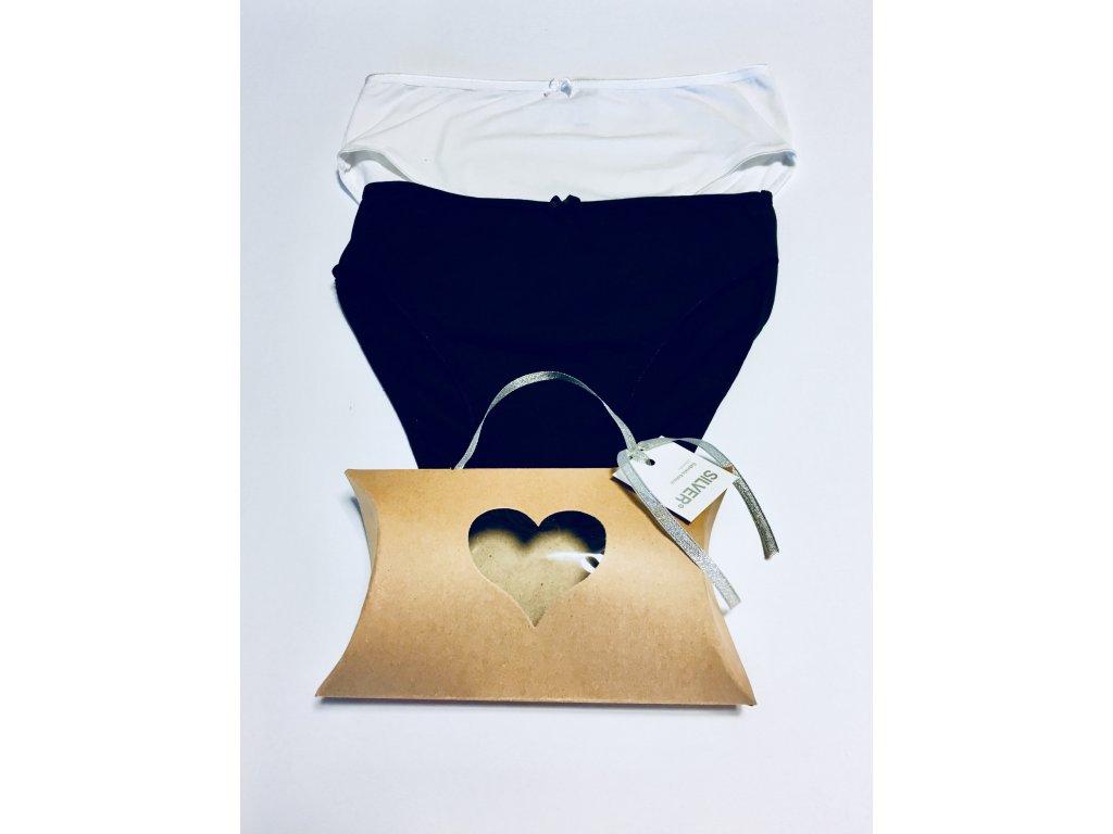 Antibakteriální kalhotky Dárkový set  MAXI CLASSIC 1+1
