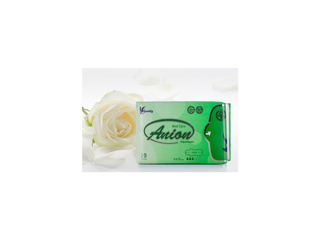 Anionové hygienické vložky slipové (30 ks)