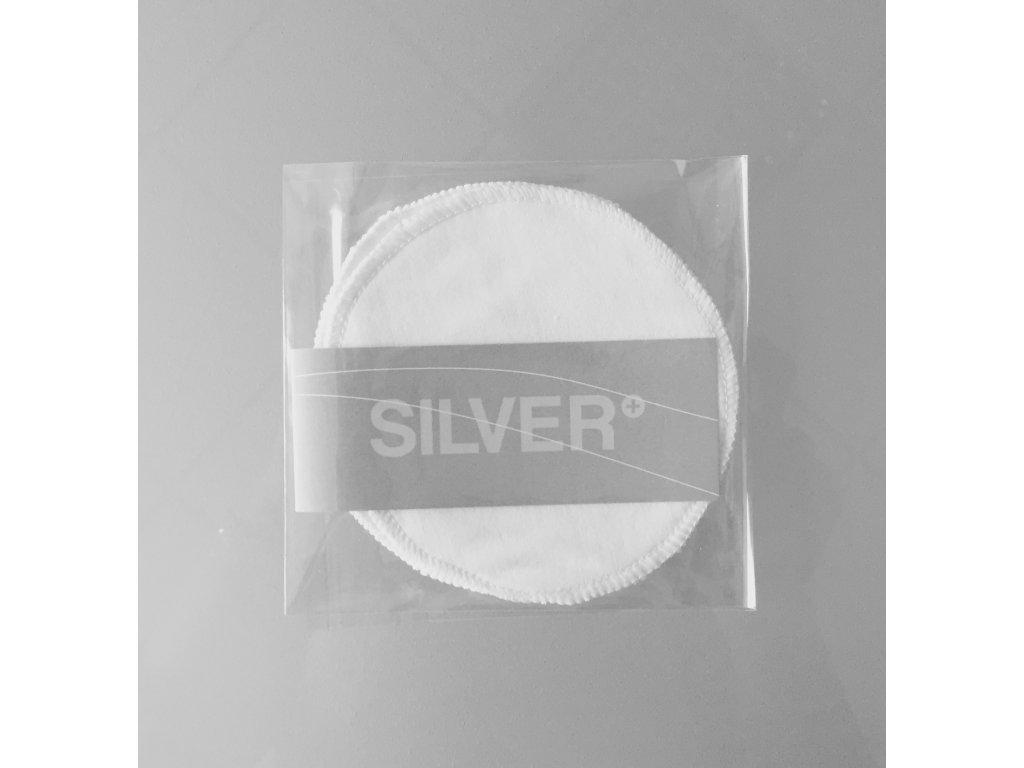 Prsní vložky SILVER+ antibakteriální 2 ks