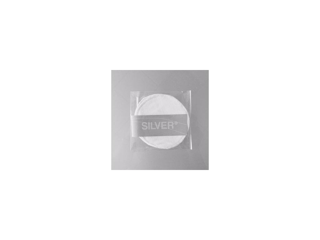 Prsní vložky SILVER+ antibakteriální 4 ks