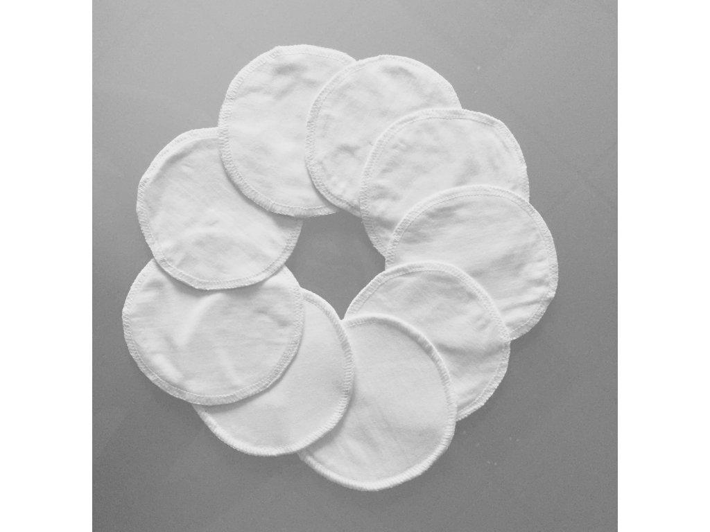 Prsní vložky SILVER+ antibakteriální 10 ks