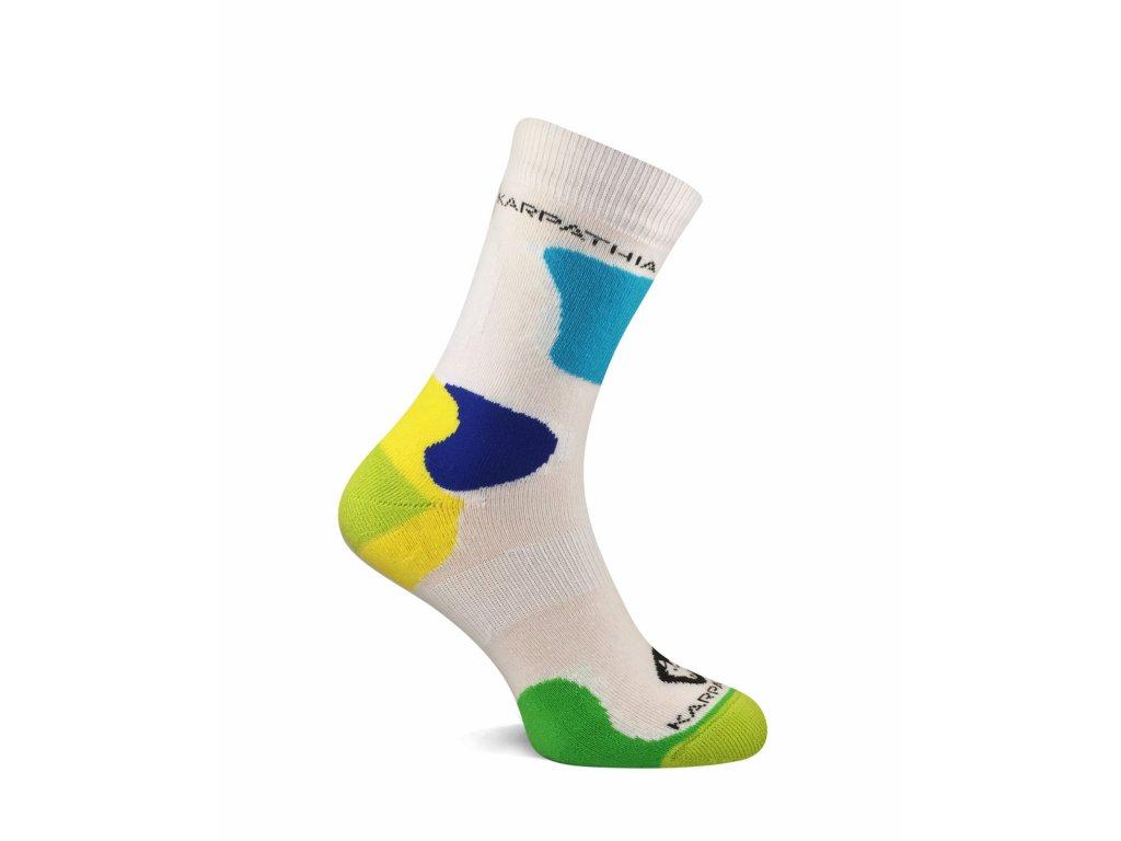 Antibakteriální ponožky SOX TREK bílá
