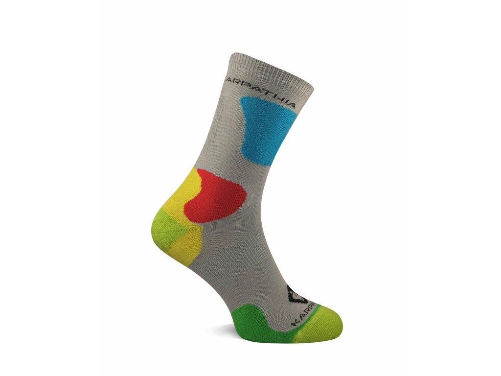 Antibakteriální ponožky SOX TREK šedá