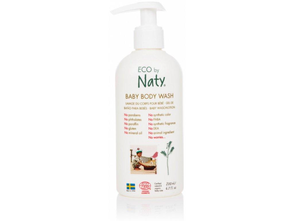 NATY dětské tekuté mýdlo BIO (200 ml)