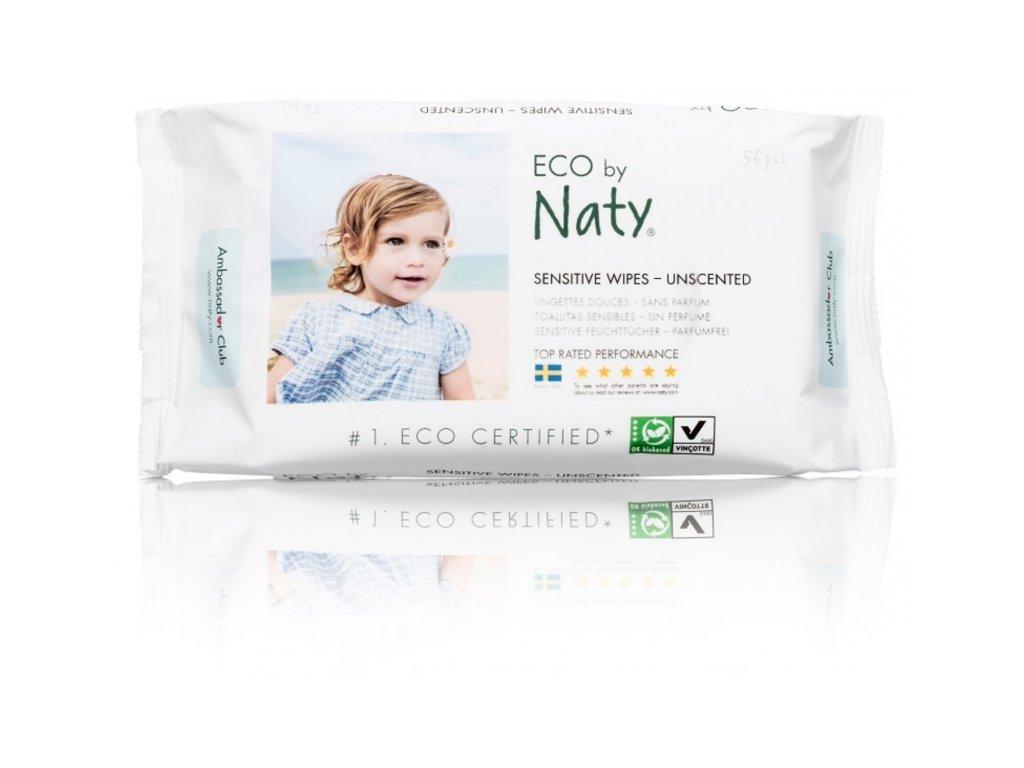 NATY dětské vlhčené hygienické ubrousky (56 ks)