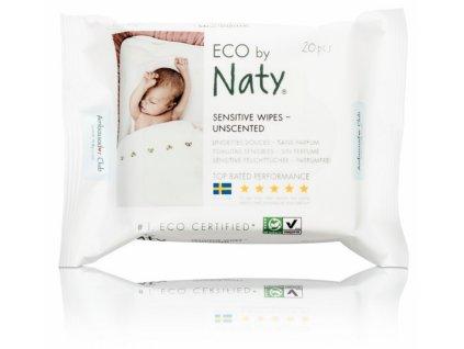 NATY dětské vlhčené hygienické ubrousky (20 ks)
