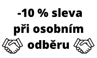 -10 % osobní odběr