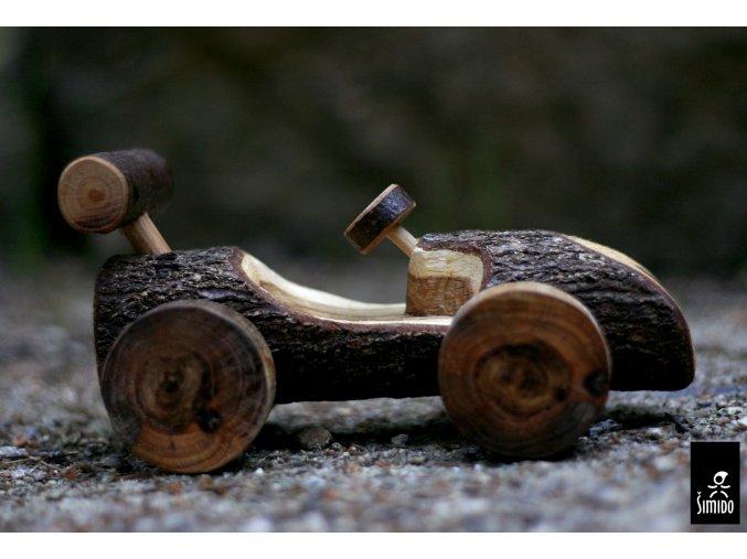 ŠimiDo car  Ručně vyřezávané autíčko pro skřítky