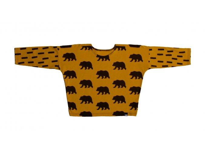 triko basic medvěd a čárky