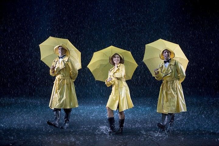 Deštník jako  módní doplněk