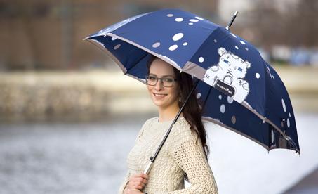 Značkové luxusní deštníky