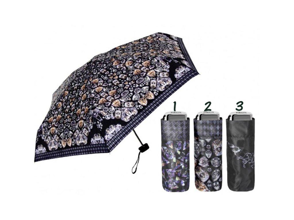 Dámský skládací deštník mini Diamant