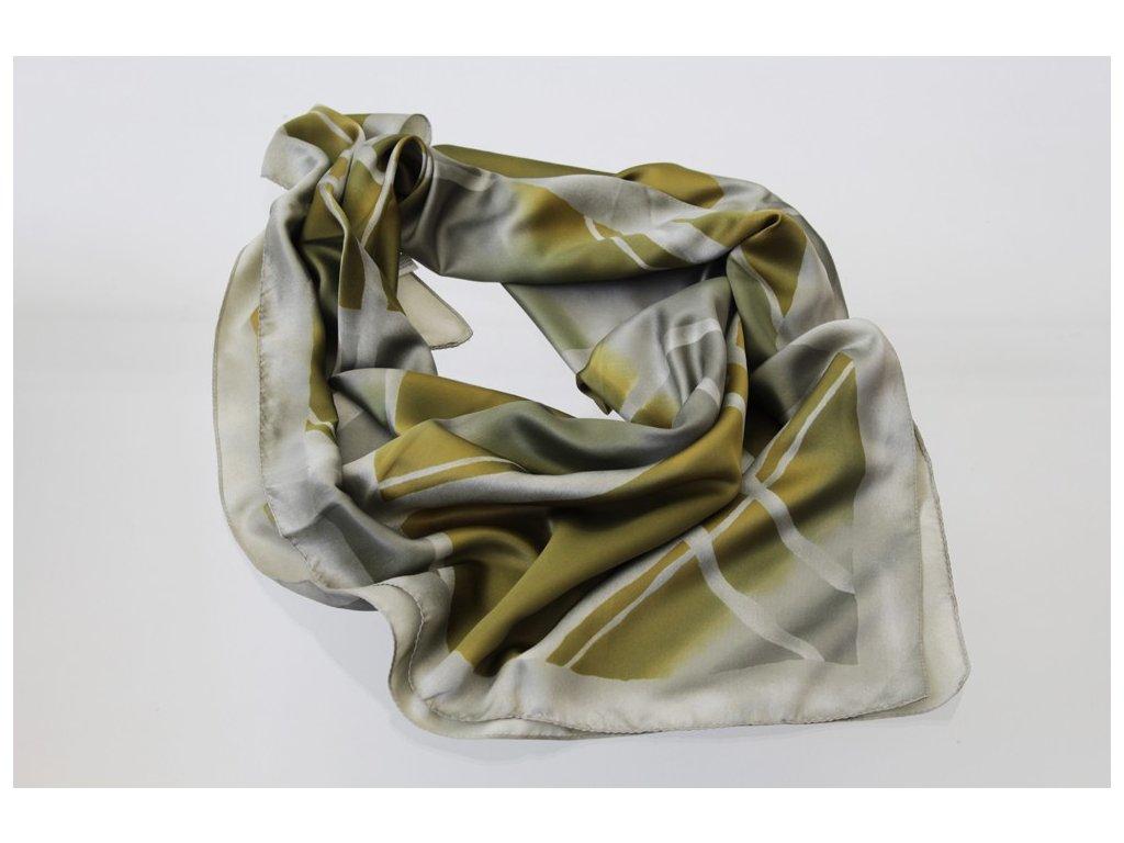 Dámský šátek 90x90 polyester Italy 1130