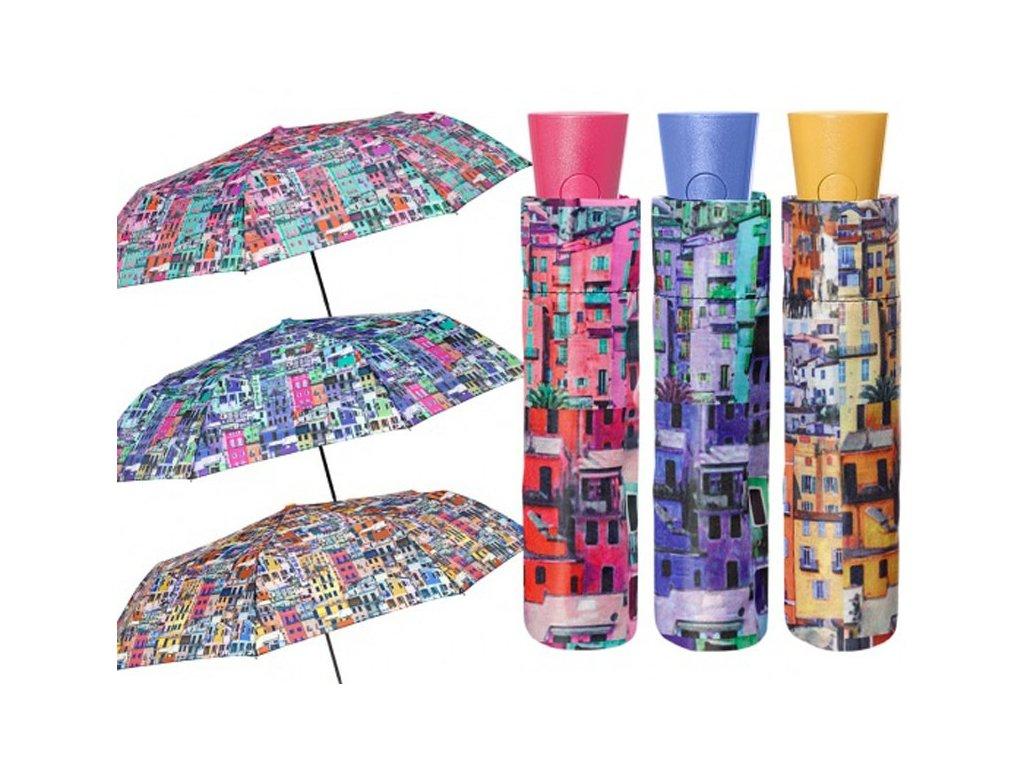 Skládací vystřelovací deštník Italie- Cinque Terre