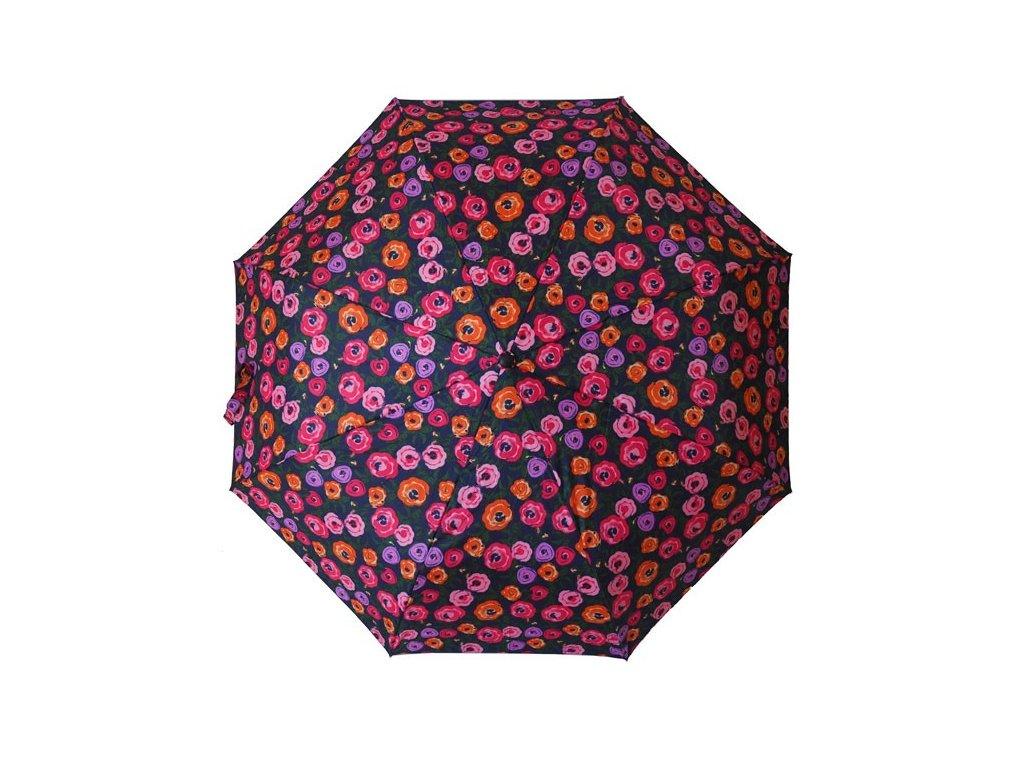 Skládací vystřelovací deštník Růže