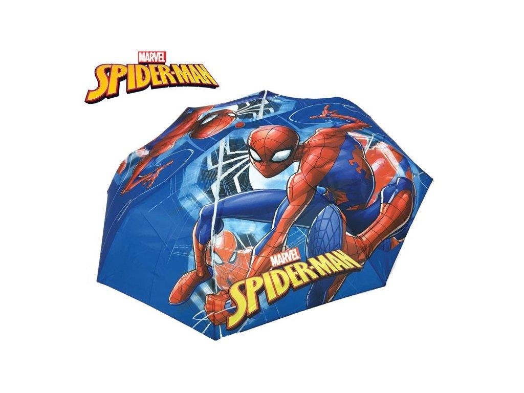 Dětský skládací deštník Spiderman velký obr.