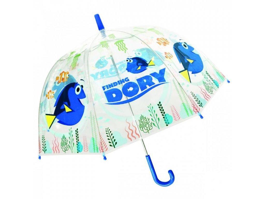Dětský průhledný deštník Hledá se Dory