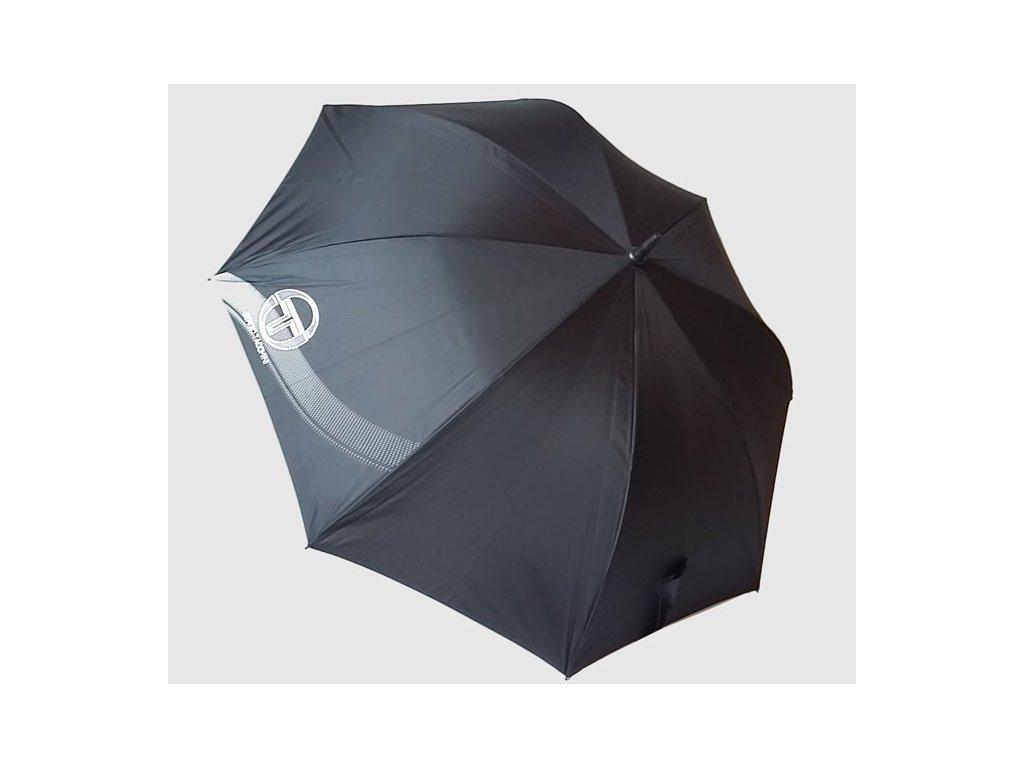 Pánský  jednobarevný deštník Sergio Tacchini černý