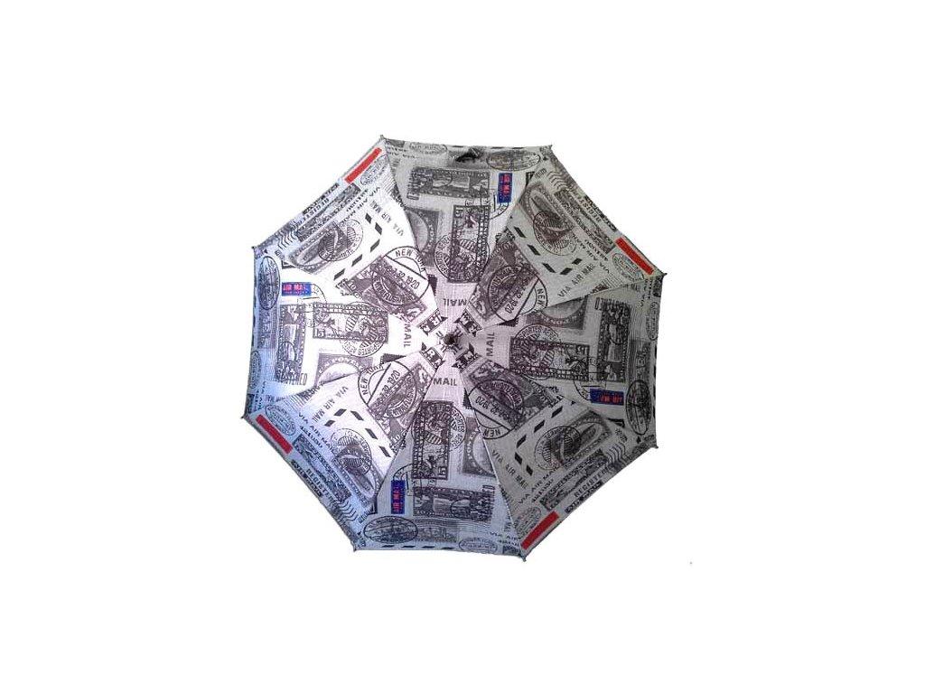 Holový deštník Vitrage Mail