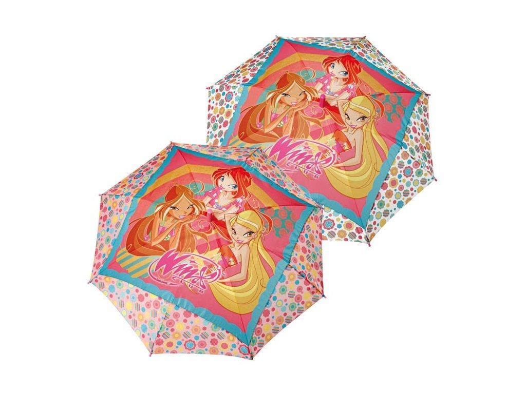 Dětský deštník Winx světlý