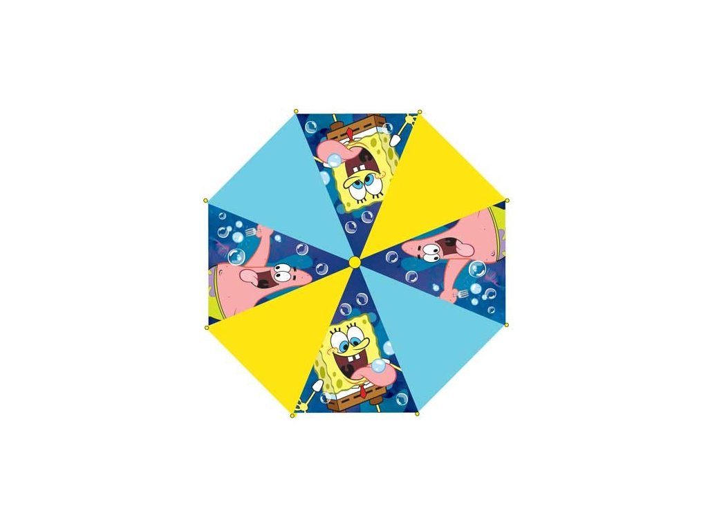Dětský deštník SpongeBob žlutý