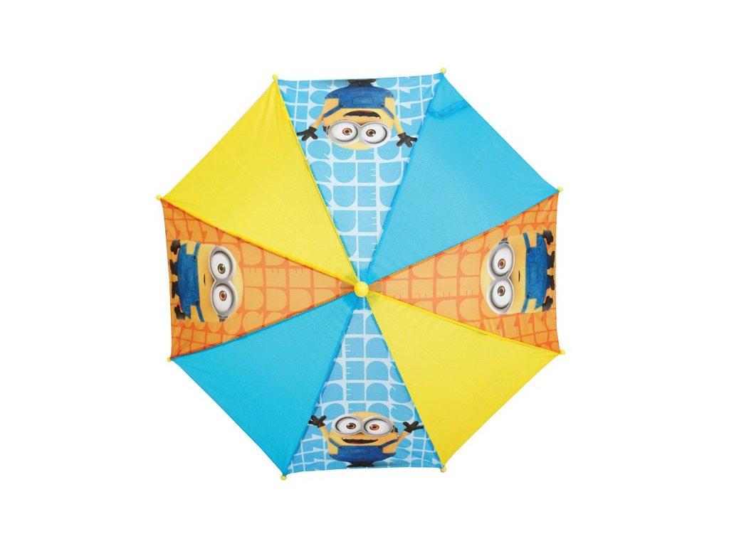 Dětský deštník Mimoni žlutý velký