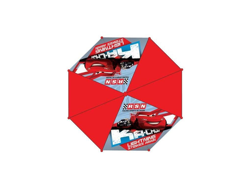 Dětský deštník Auta vystřelovací